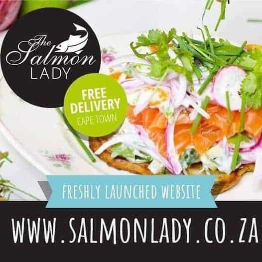 The Salmon lady